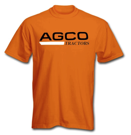 DAMAGED AGCO TRACTORS T-SHIRT
