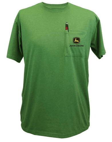 DAMAGED John Deere Pocket Short Sleeve Tee
