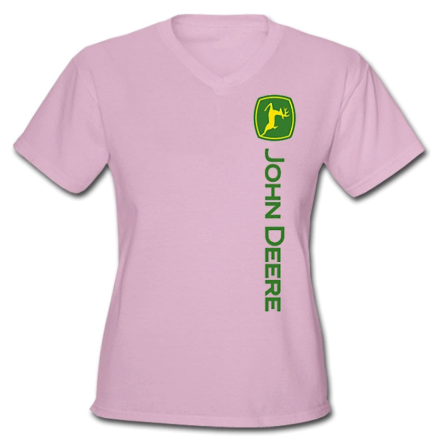 DAMAGED John Deere Sideways Logo T-Shirt