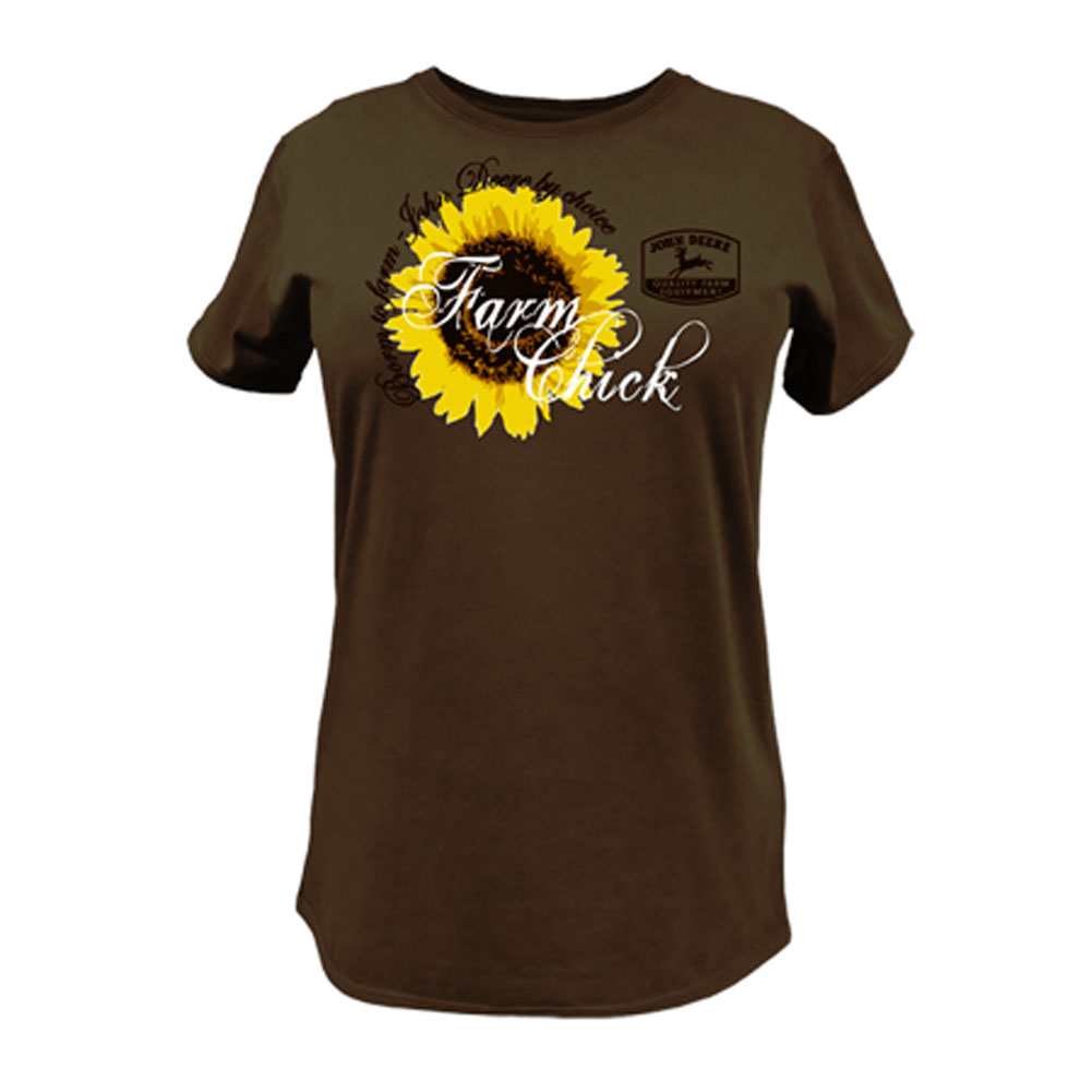 John Deere Farm Chick T-Shirt