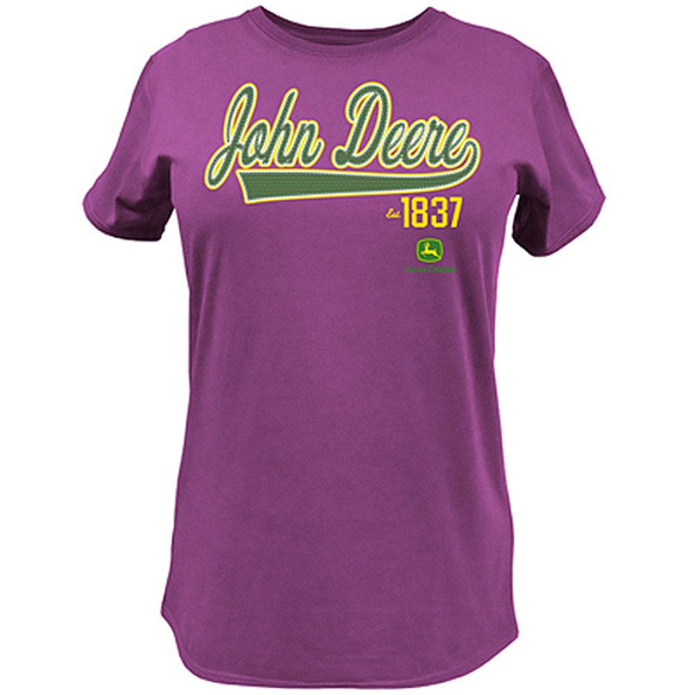 John Deere Script Tail T-Shirt