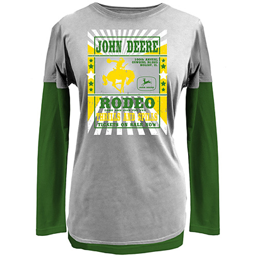 John Deere Rodeo Long Sleeve T-Shirt