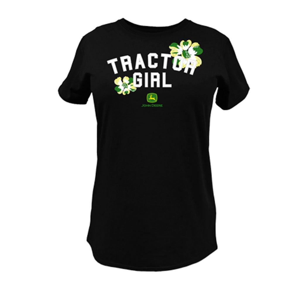 John Deere Tractor Girl T-Shirt