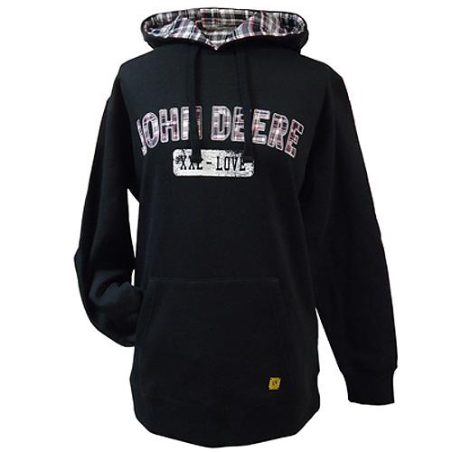 John Deere Flannel Lined Hoodie