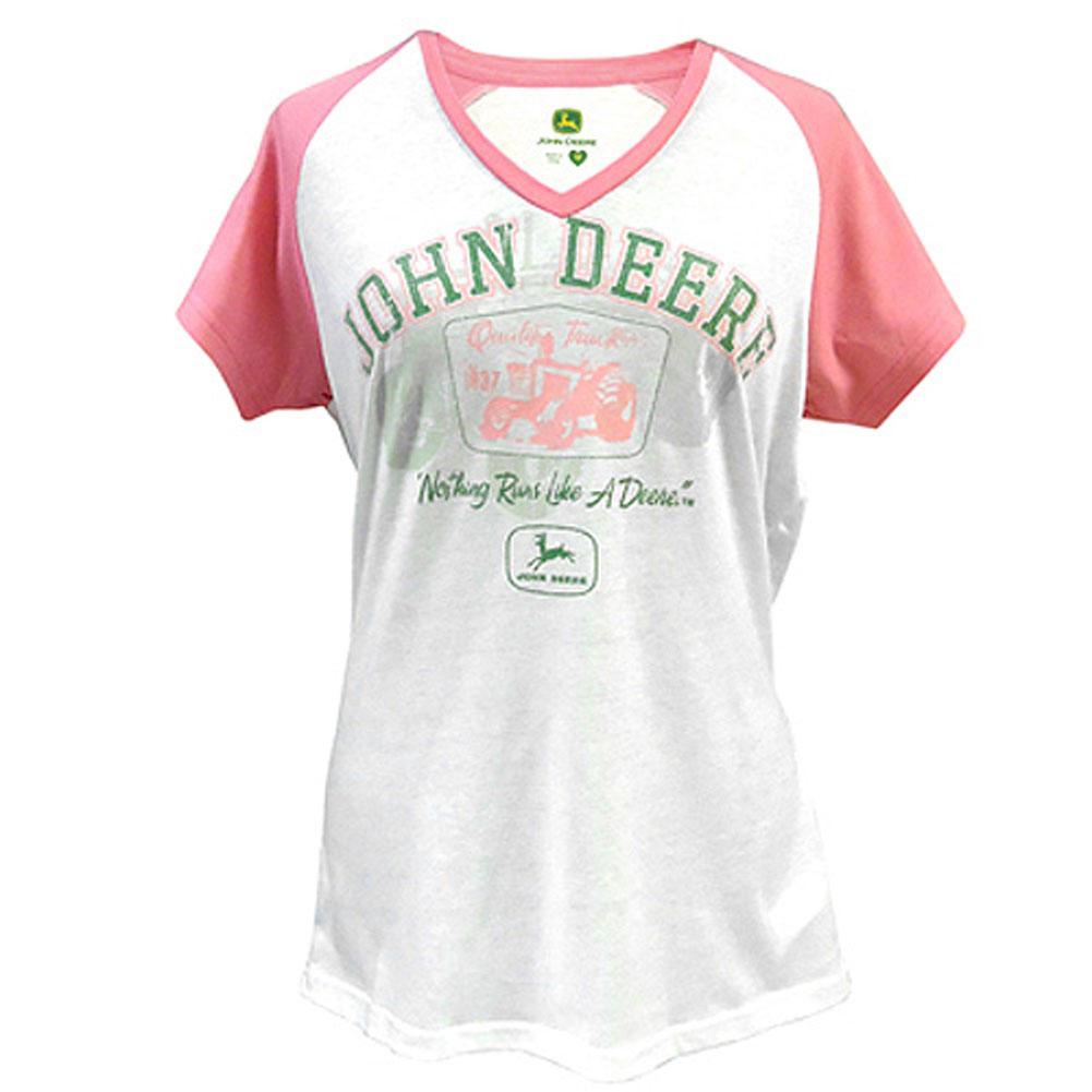 John Deere College Script T-Shirt