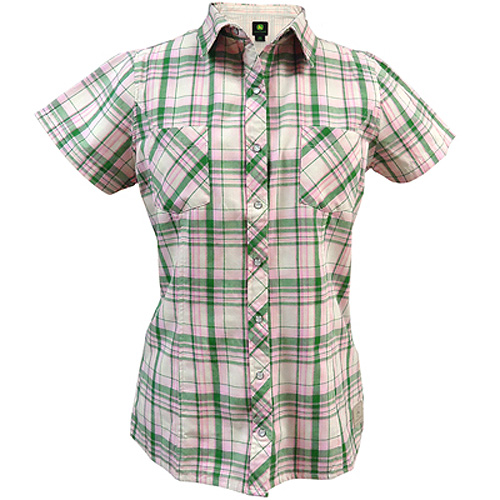 John Deere Button Down Western Shirt