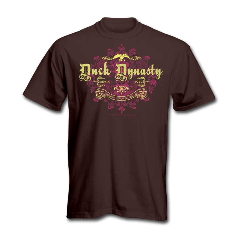Duck Dynasty Vintage Motif T-Shirt