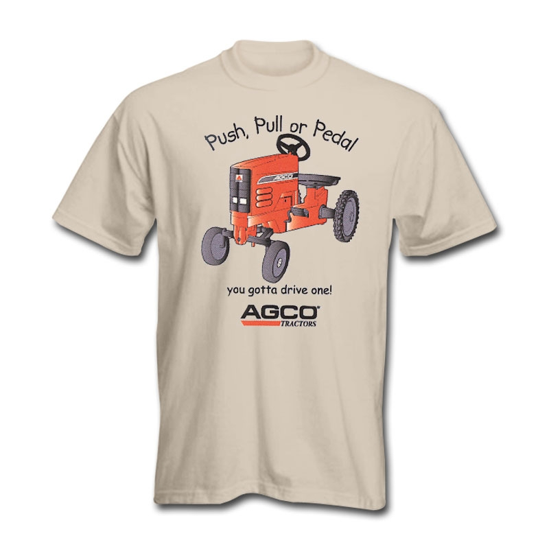 AGCO Push, Pull or Pedal T-Shirt