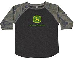John Deere Kid's Logo Raglan T-Shirt