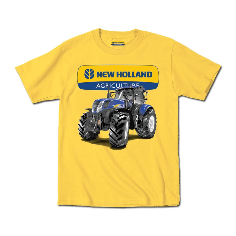 New Holland Logo with Tractor T-Shirt