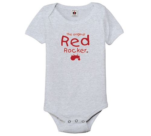 IH The Original Red Rocker Onesie