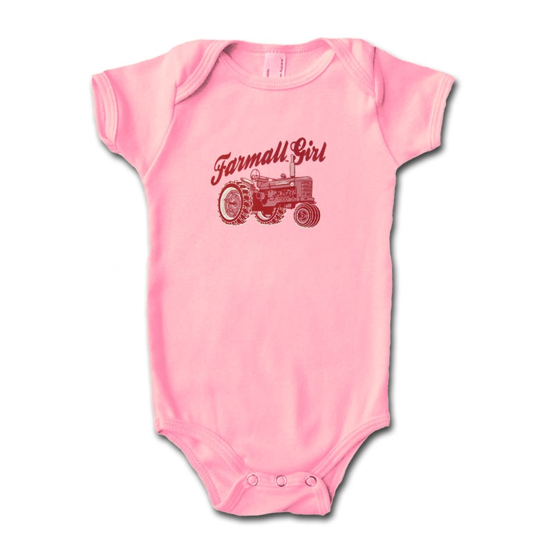 IH Farmall Girl Onesie