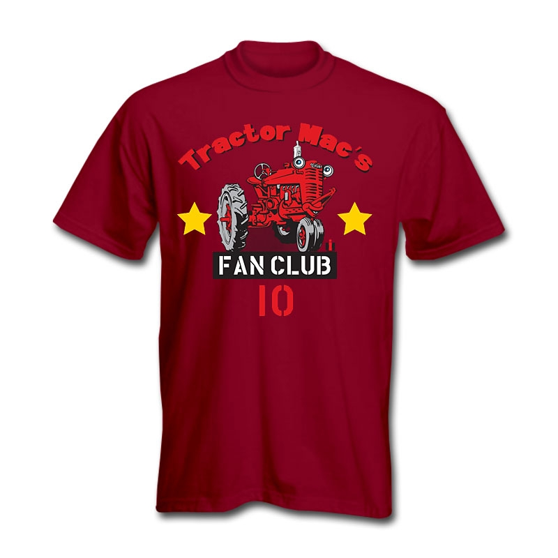 IH Tractor Mac Fan Club T-Shirt