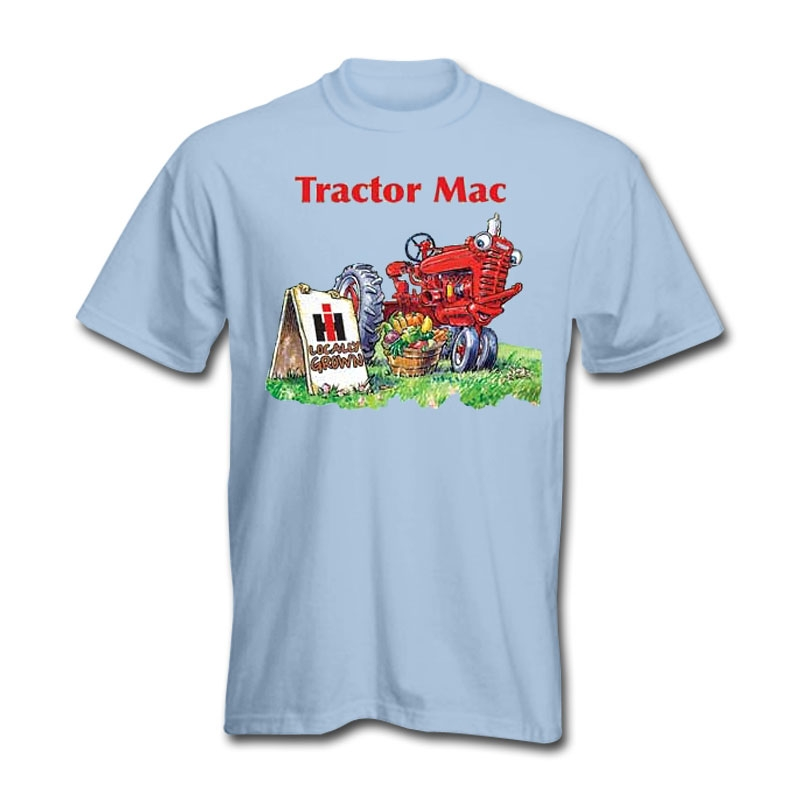 IH Tractor Mac Locally Grown T-Shirt