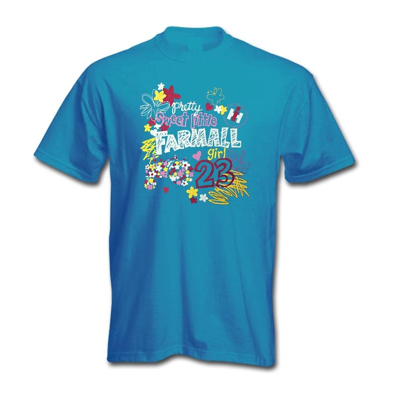 IH Sweet Little Farmall Girl T-Shirt