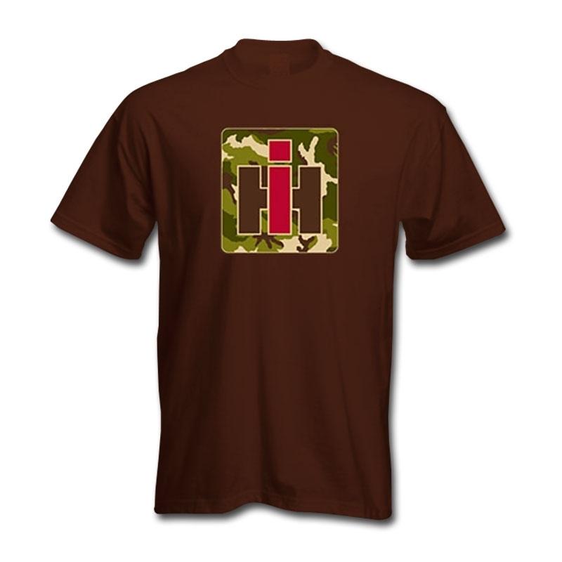 IH Square Camo Logo T-Shirt