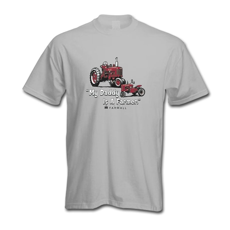 IH Farmall My Daddy Is A Farmer T-Shirt