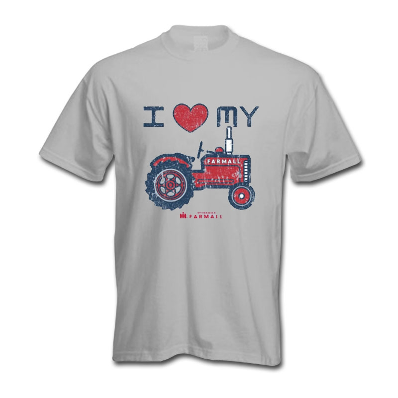 IH I Heart My Tractor T-Shirt