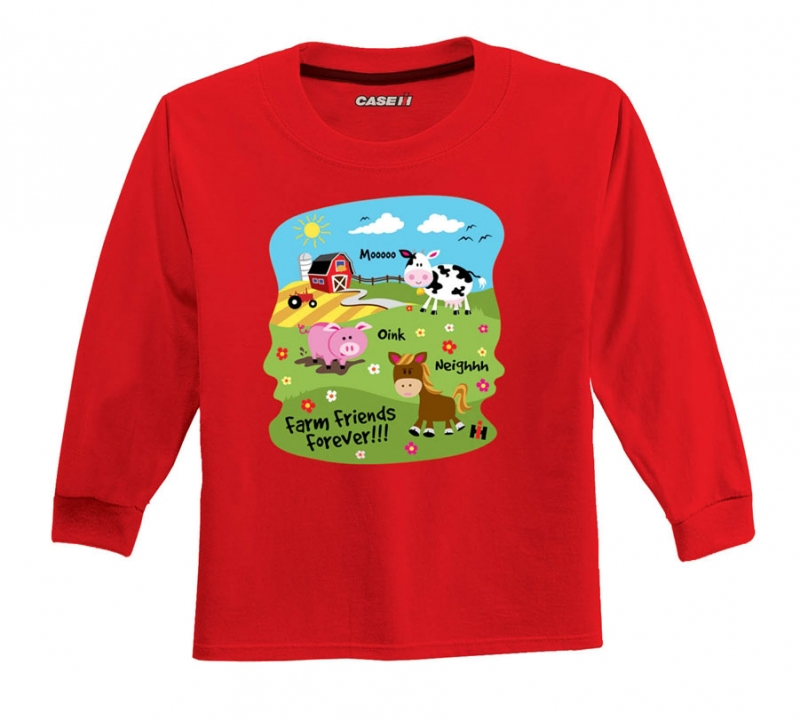 IH Farm Friends Long Sleeve T-Shirt