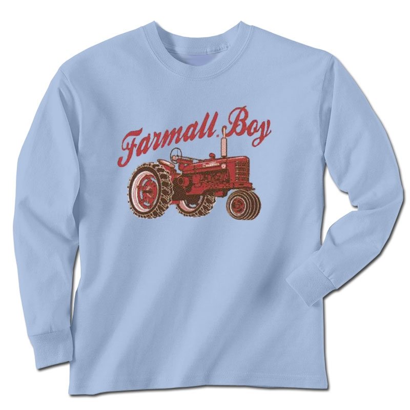 Farmall Boy Long Sleeve T-Shirt