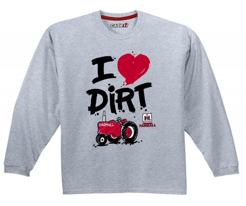 IH I Love Dirt Long Sleeve T-Shirt