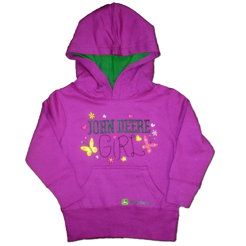 John Deere Girl Hoodie