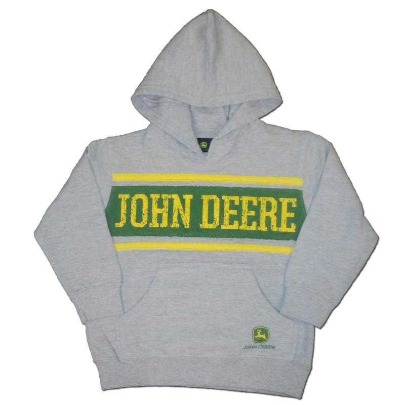 John Deere Stripe Hoodie