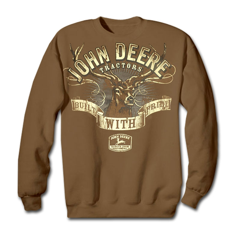 John Deere Built With Pride Sweatshirt