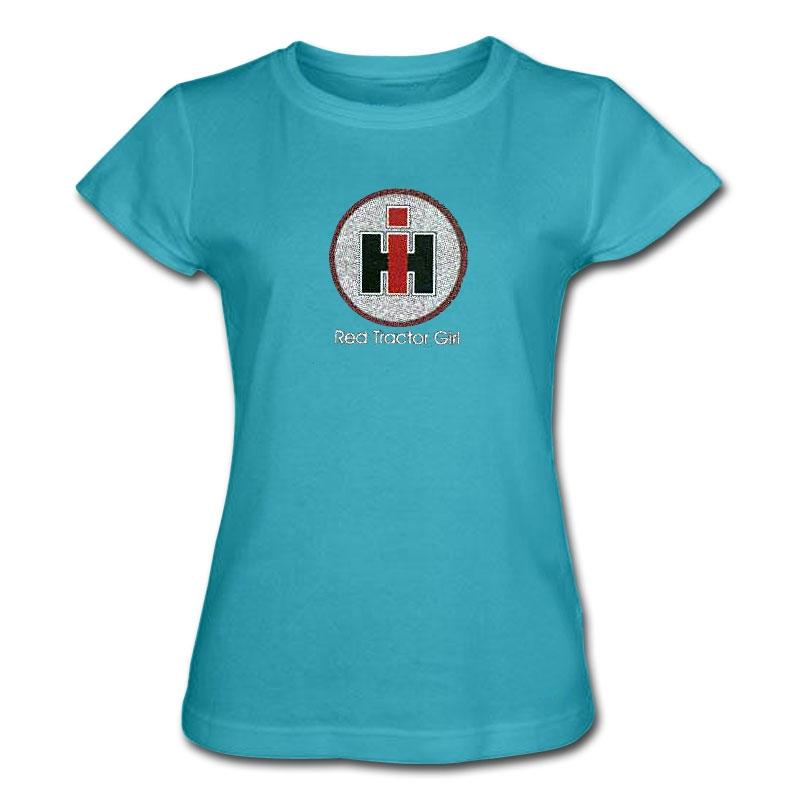 IH Womens Glitter Circle T-Shirt