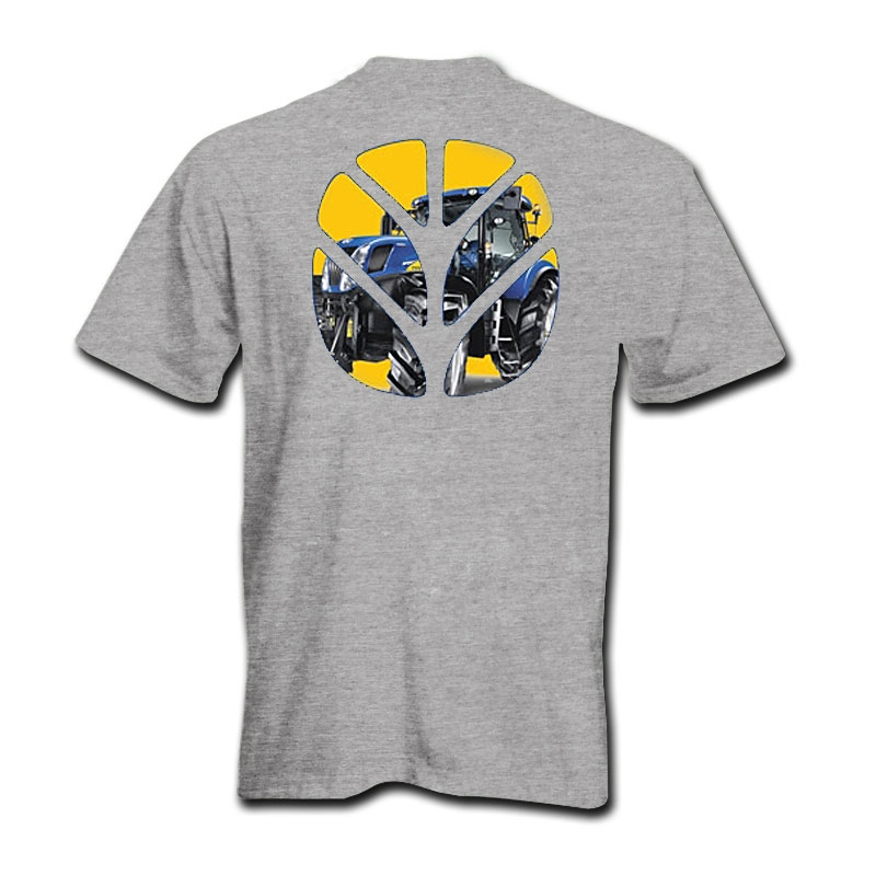 New Holland Tractor Logo T-Shirt