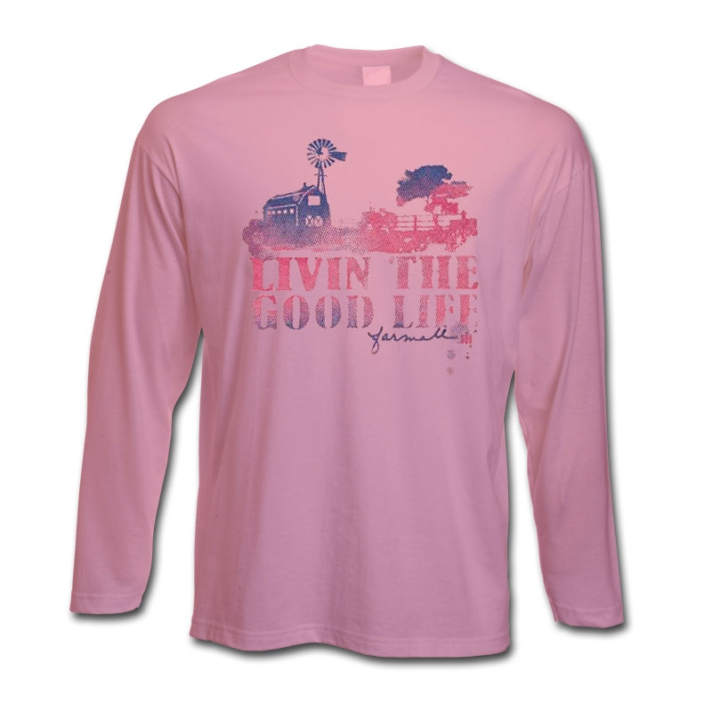 IH Livin The Good Life Long Sleeve T-Shirt