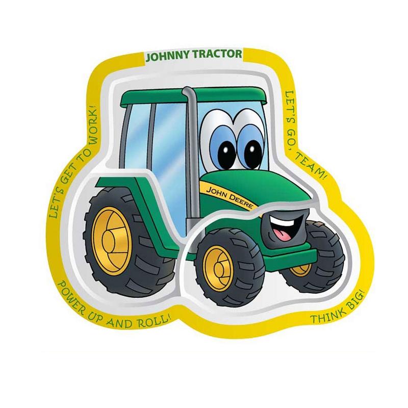 John Deere Johnny Tractor Plate
