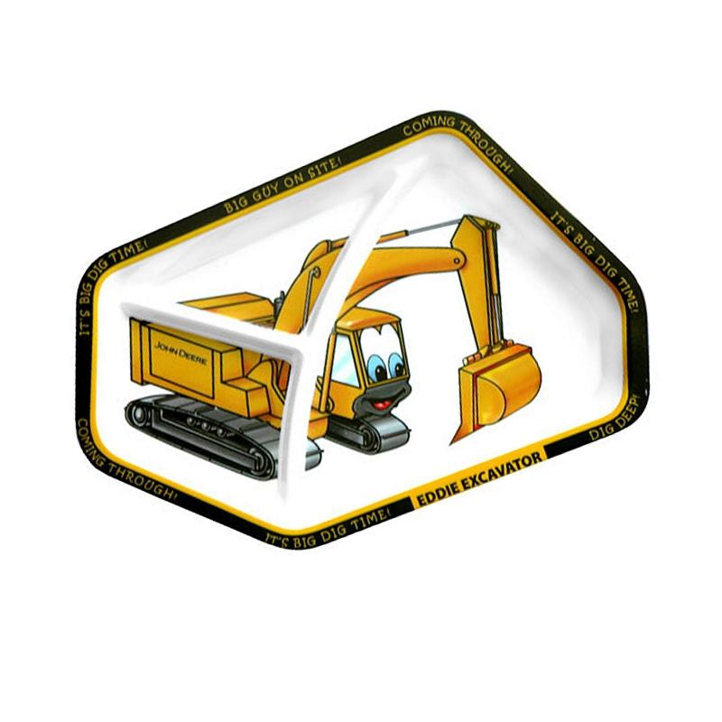 John Deere Eddie Excavator Plate