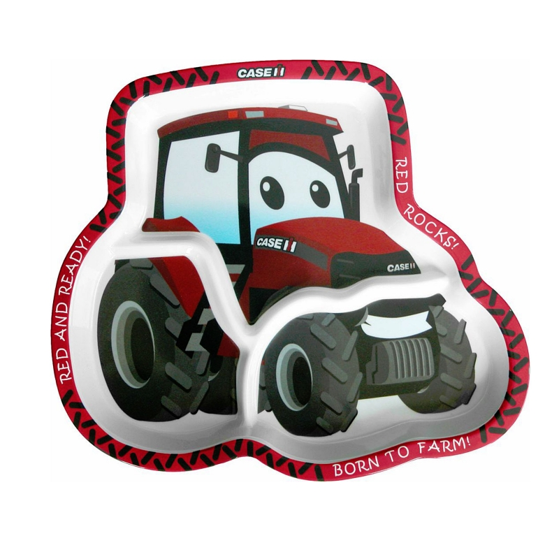 Case IH Big Red Plate