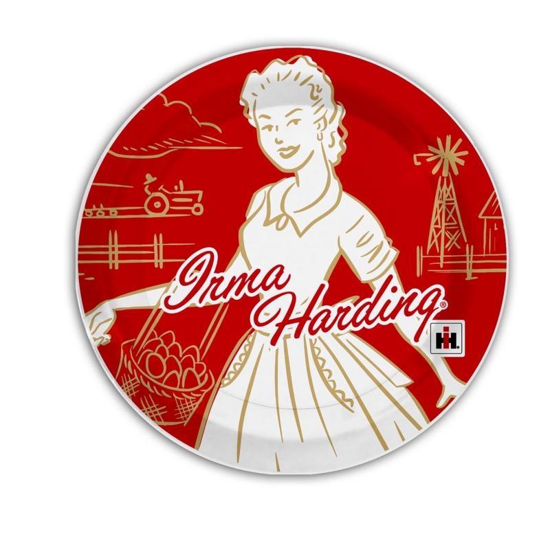 IH Irma Harding Retro Plates