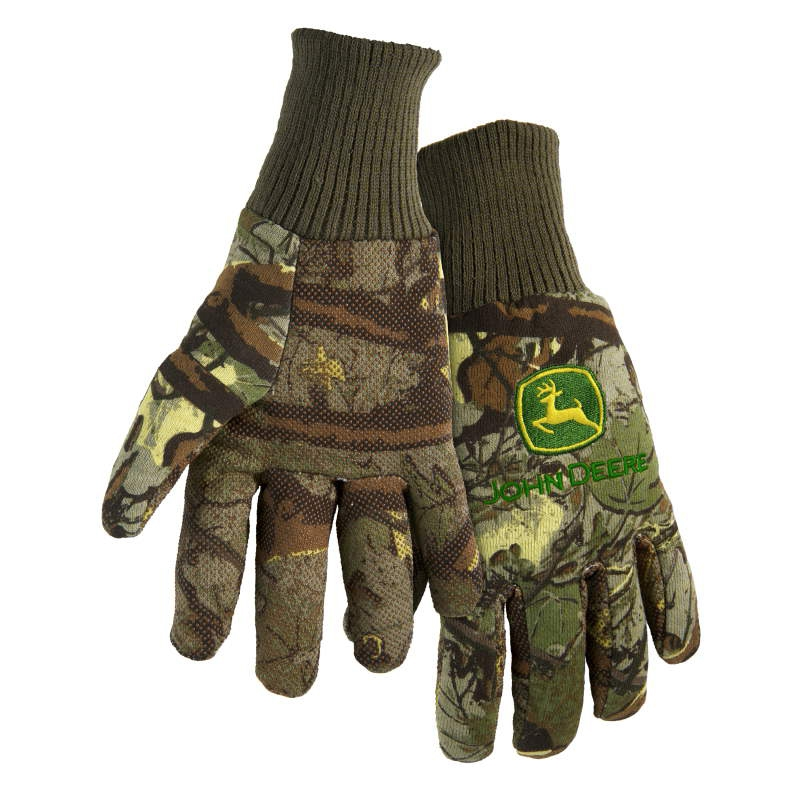 John Deere Light Duty Cotton Grip Glove