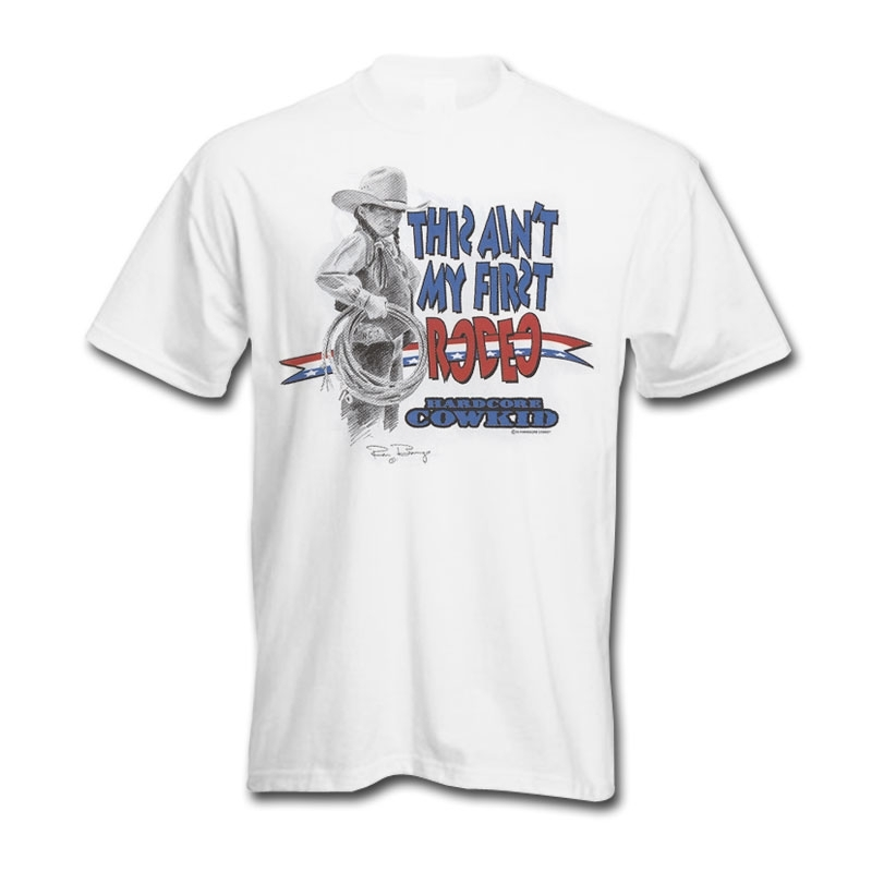 Rodeo Rags This Aint My First Rodeo T-Shirt