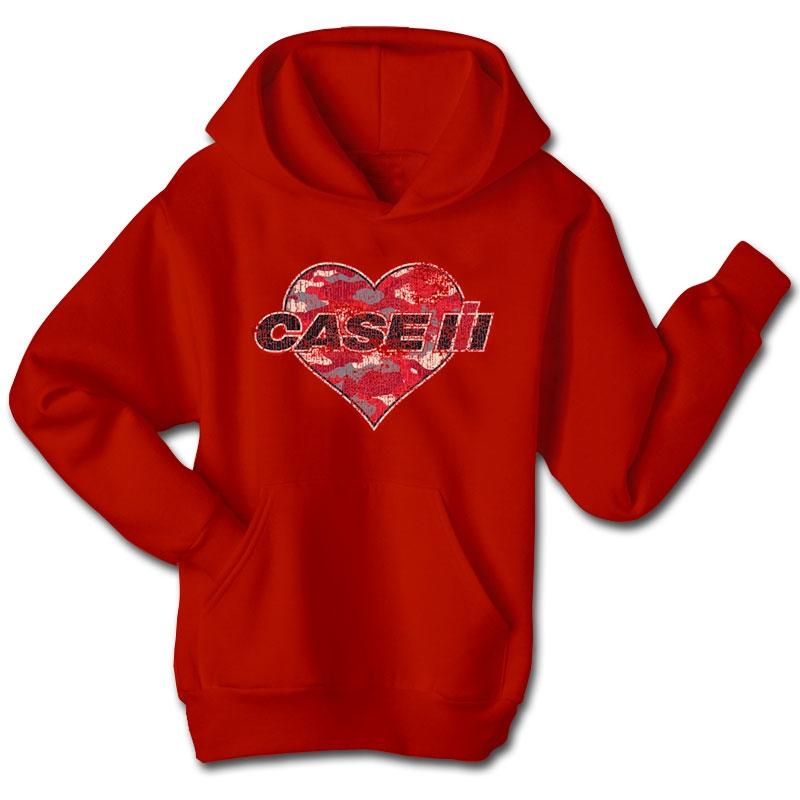Case IH Camo Heart Hoodie