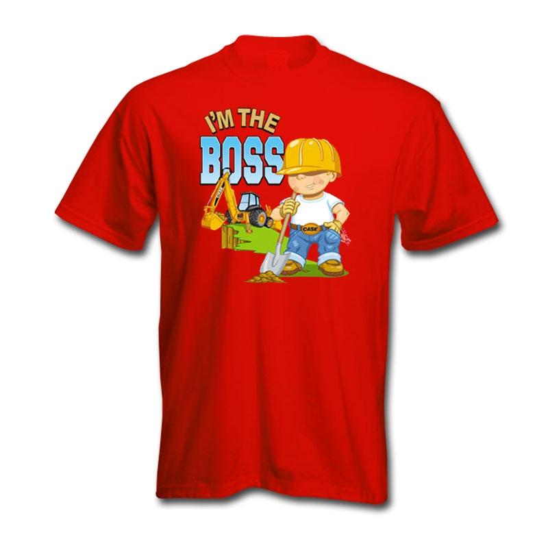 Damaged Case Im The Boss T-Shirt