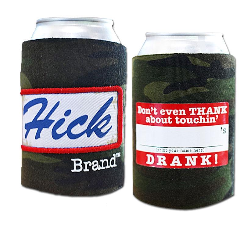 Hick Brand Hick Camo Koozie
