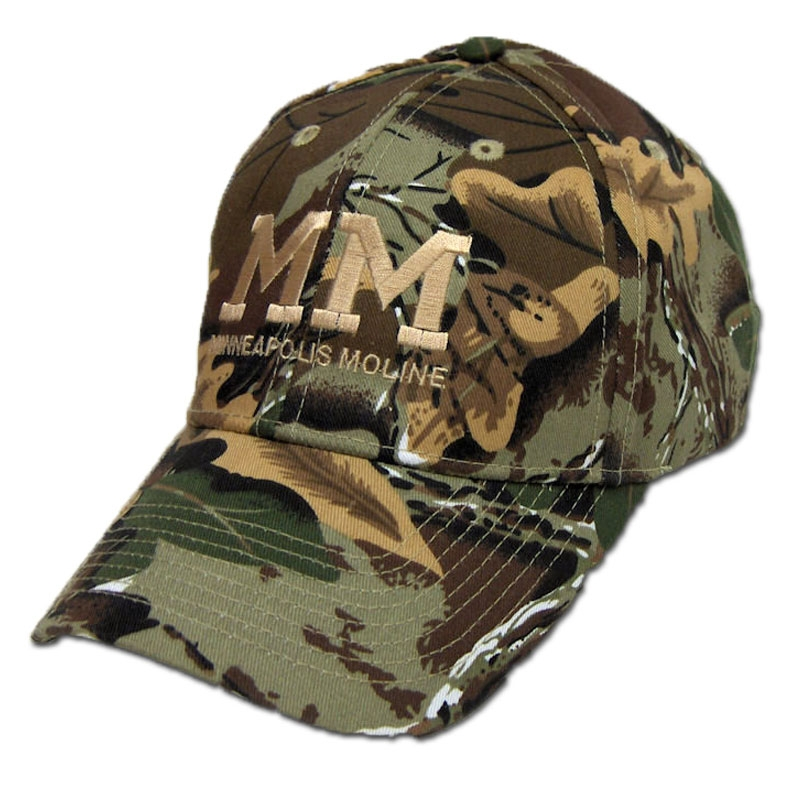 Minneapolis Moline Men's Camo Baseball Cap