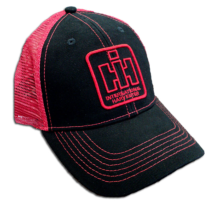 IH Outlined Logo Mesh Baseball Cap