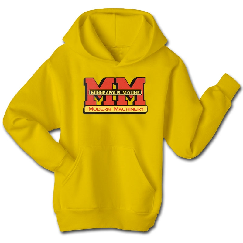 Minneapolis Moline Children's Yellow Logo Hoodie