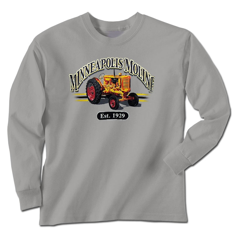 Minneapolis Moline Men's Est 1929 Long Sleeve T-Shirt