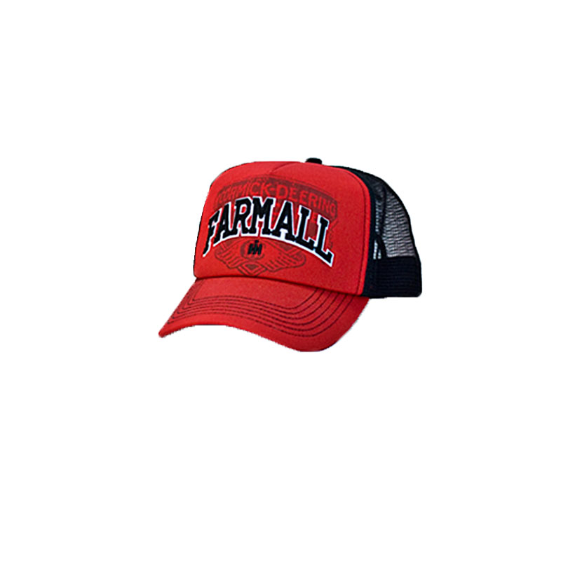 Farmall Felt Applique Mesh Cap
