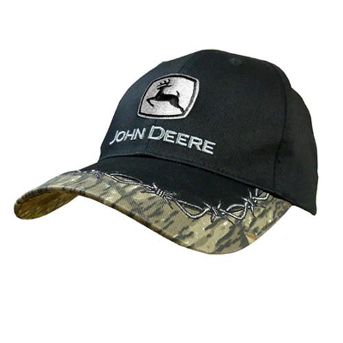 2c189915a6680 John Deere Barb Wire Baseball Cap