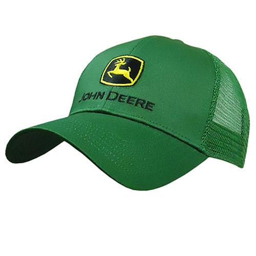 John Deere Logo Mesh Cap