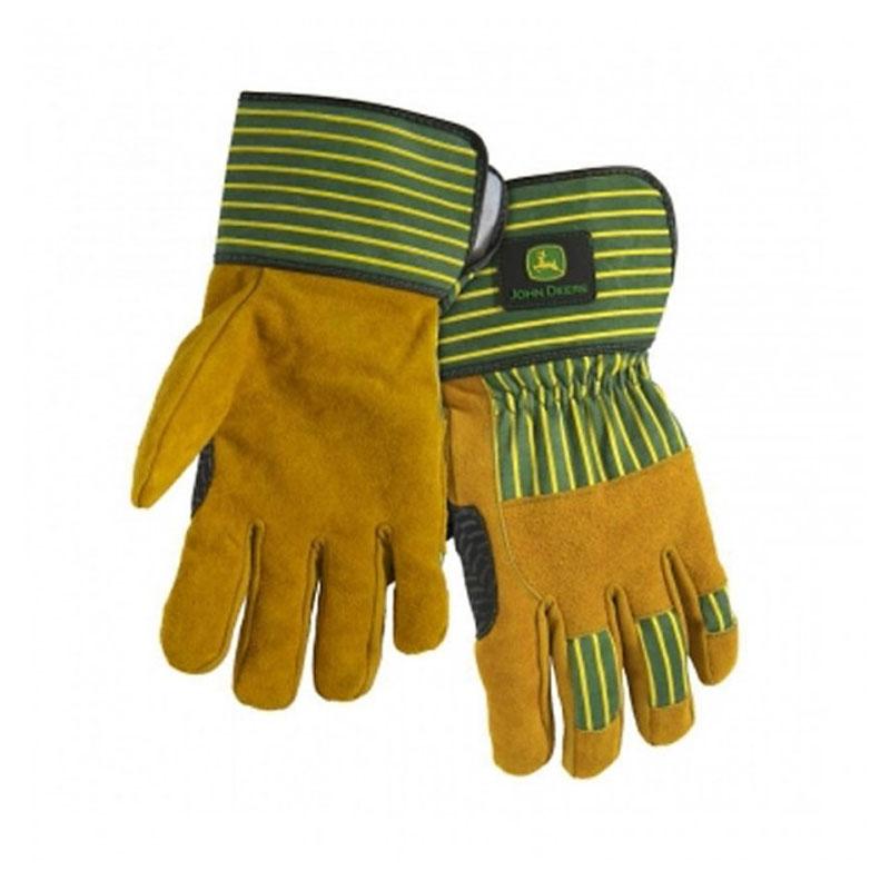 John Deere Split Cowhide Palm Glove