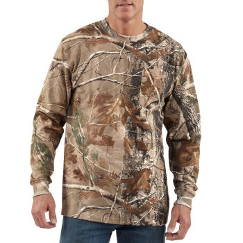 Carhartt  WorkCamo AP Long-Sleeve T-Shirt