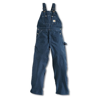 Carhartt Unlined Denim Bib Overall